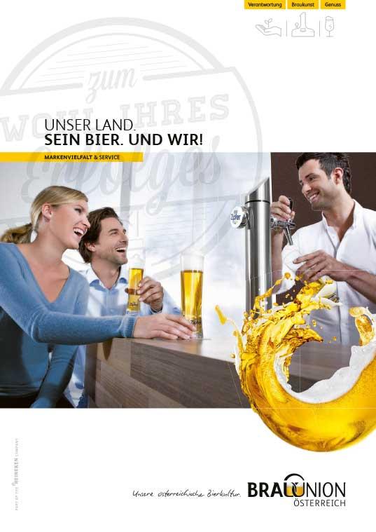 Titelseite Imagefolder Brau Union